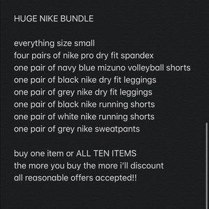 HUGE NIKE BUNDLE buy one item or all ten!!
